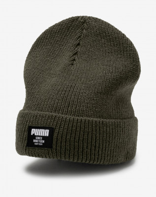 Ribbed classic beanie Forest Night