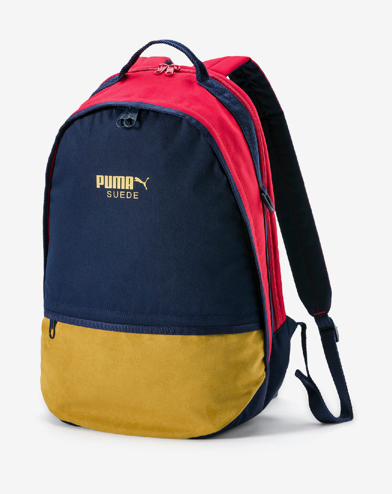 Puma Suede Backpack Peacoat-Ribbon Red