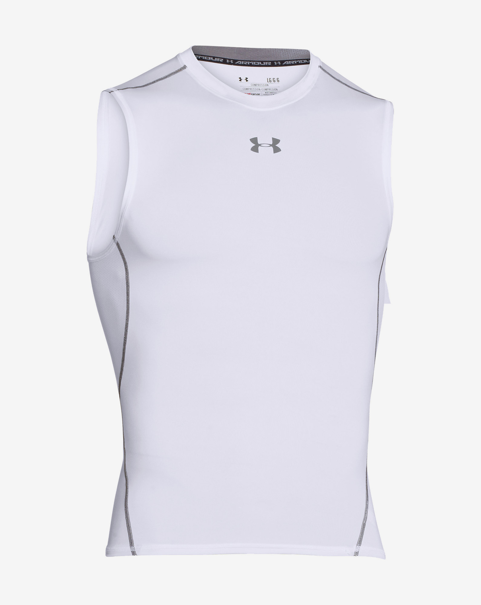 UA HG ARMOUR SL-WHT
