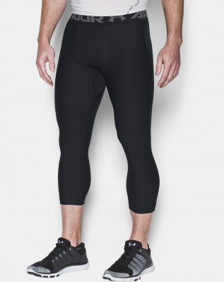 HG ARMOUR 2.0 3/4 LEGGING-BLK