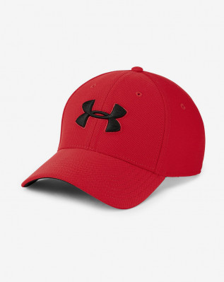 UA Men's Blitzing 3.0 Cap-RED