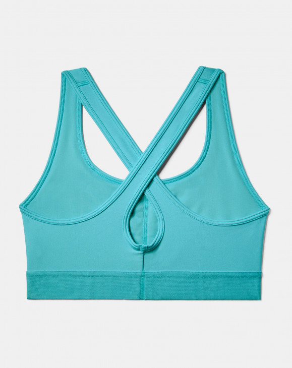detail Armour Mid Crossback Bra-BLU