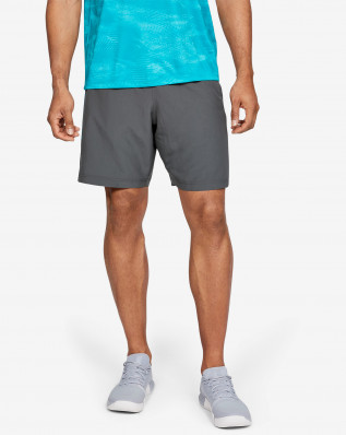 Woven Graphic Short-GRY