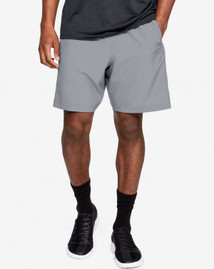 UA Woven Graphic Shorts-GRY