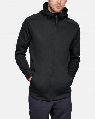 UNSTOPPABLE MOVE FZ HOODIE-BLK