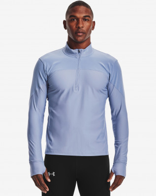 UA QUALIFIER HALF ZIP-BLU