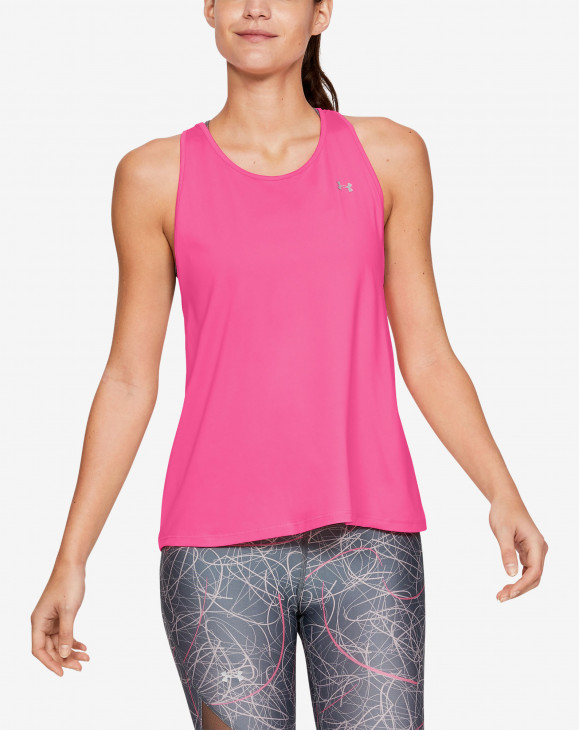 detail Armour Sport Branded Tank-PNK