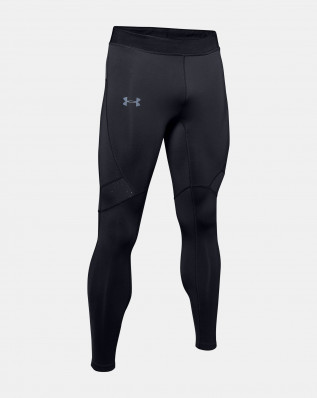 UA QUALIFIER COLDGEAR TIGHT-BLK