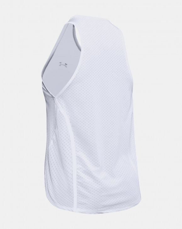 detail Armour Sport Graphic Tank-WHT