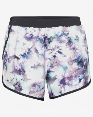 W UA Fly By 2.0 Printed Short-BLU