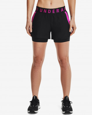 Play Up 2-in-1 Shorts-BLK