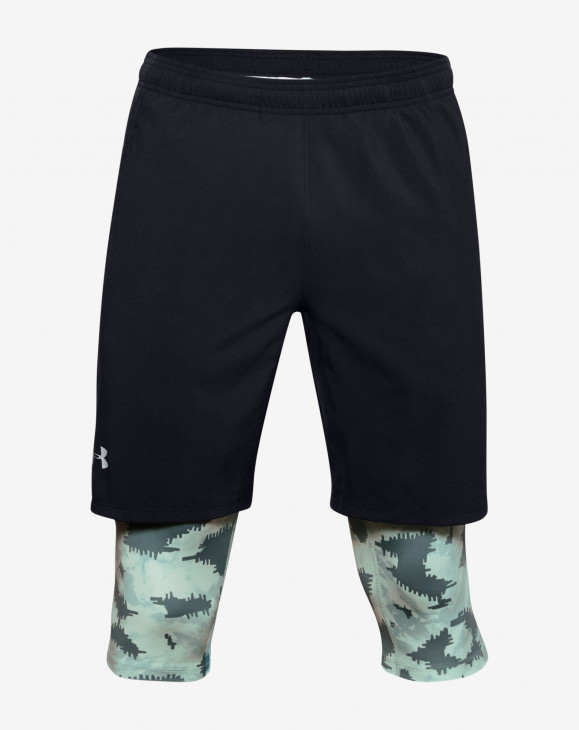 detail M UA Launch SW Long 2-in-1 Printed Short