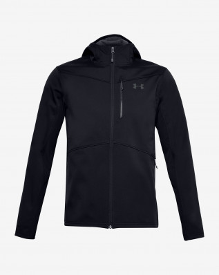 UA CGI Shield Hooded FZ-BLK