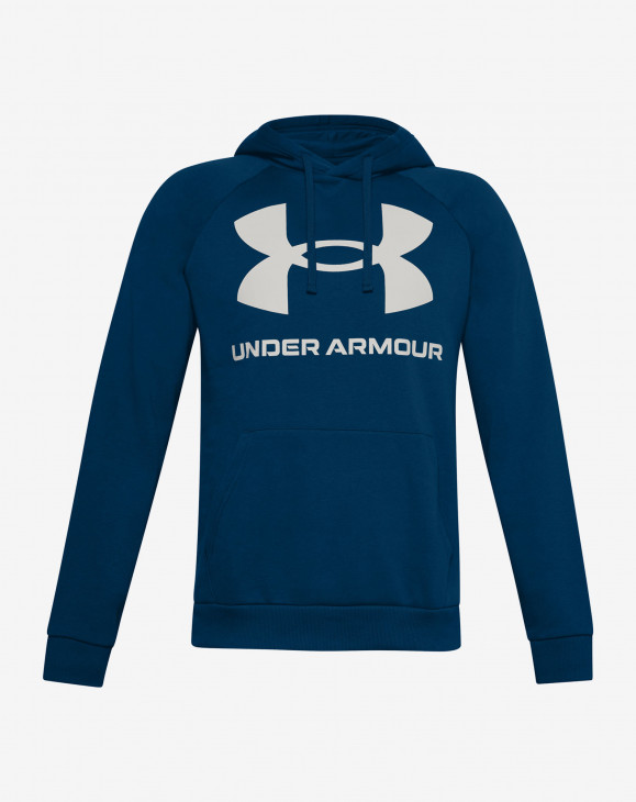 detail UA Rival Fleece Big Logo HD-BLU