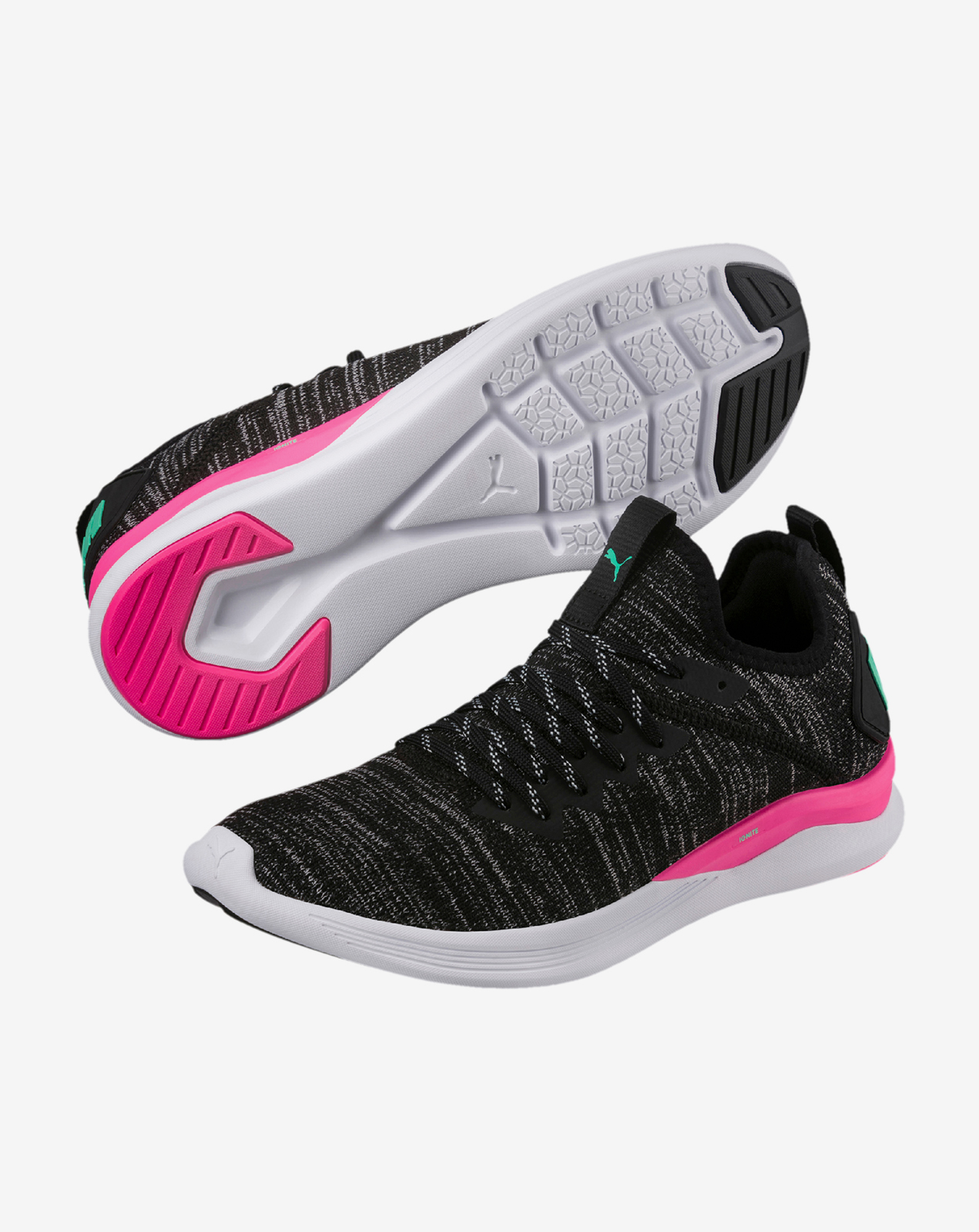 IGNITE Flash evoKNIT Wn s Puma Black-KNO
