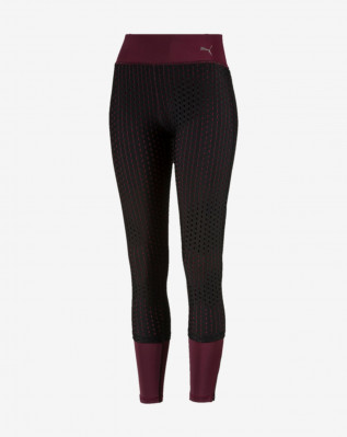 Luxe Mesh Tight Fig-Puma Black