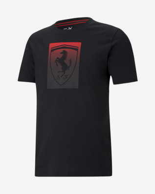 Ferrari Race Big Shield Tee colored