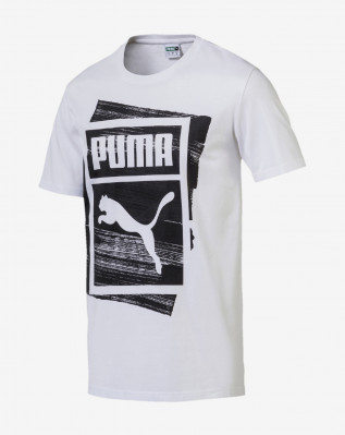 Graphic Brand Box Tee Puma White