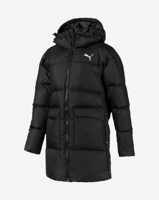 450 Long Hooded Down Coat
