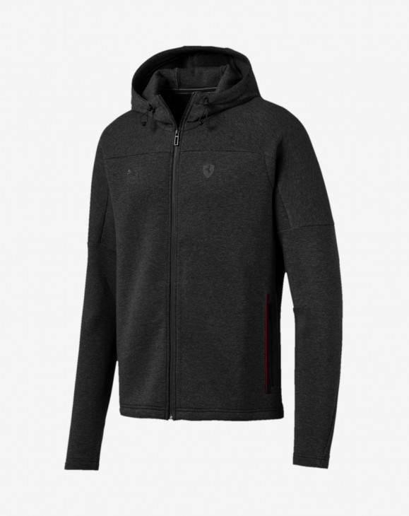 detail Ferrari Hooded Sweat Jacket
