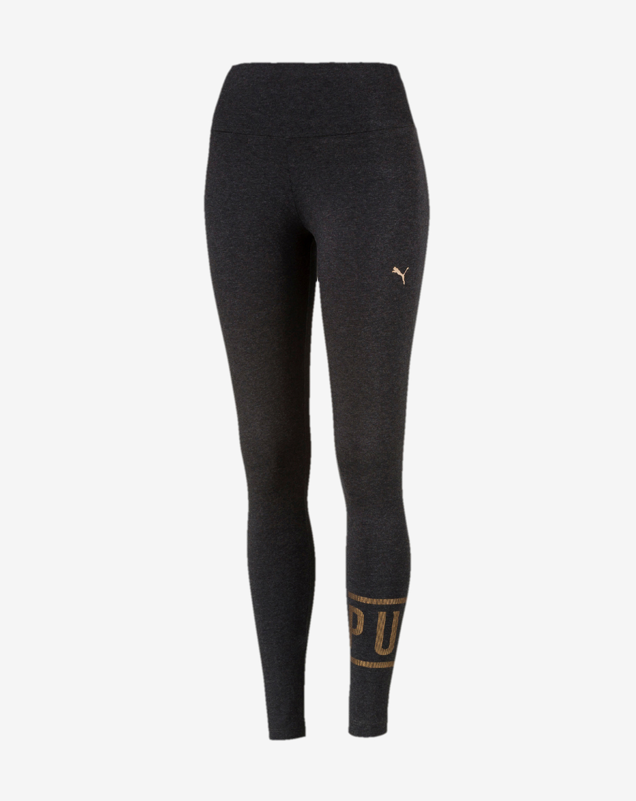 ATHLETIC Logo Leggings Dark Gray Heather