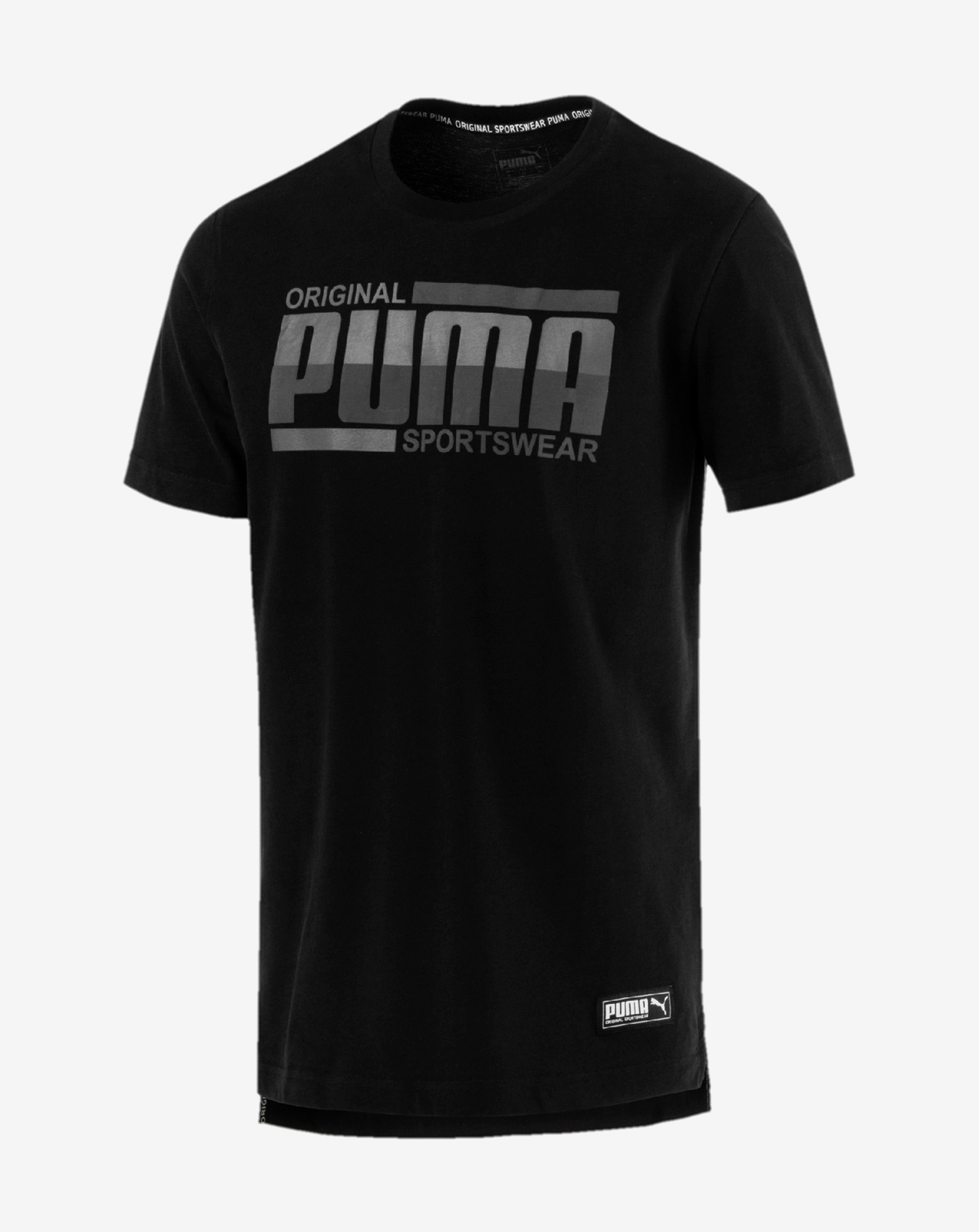 Athletics Tee Puma Black