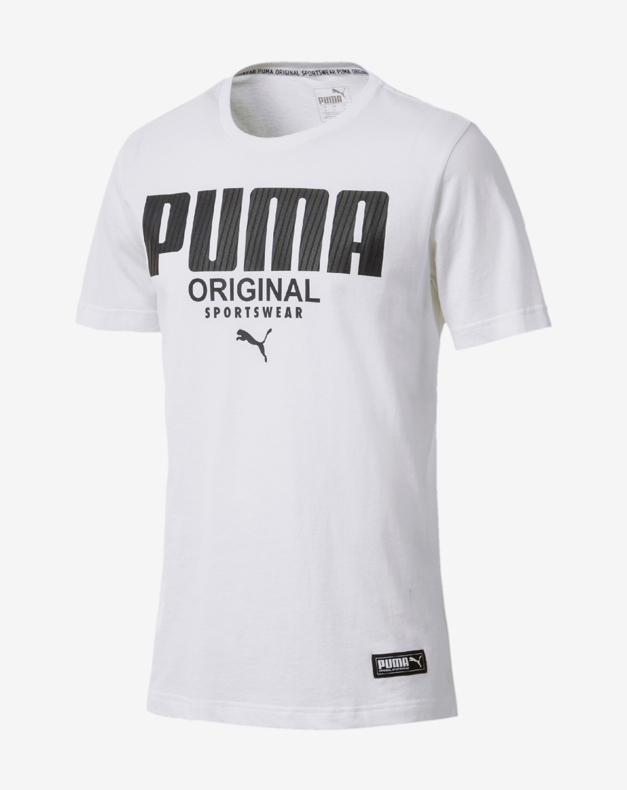 Athletics Tee Puma White
