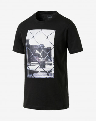 Photoprint Tee Cotton Black