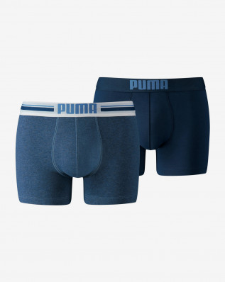 PUMA PLACED LOGO BOXER 2P denim