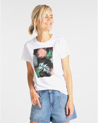 LEE GRAPHIC TEE BRIGHT WHITE