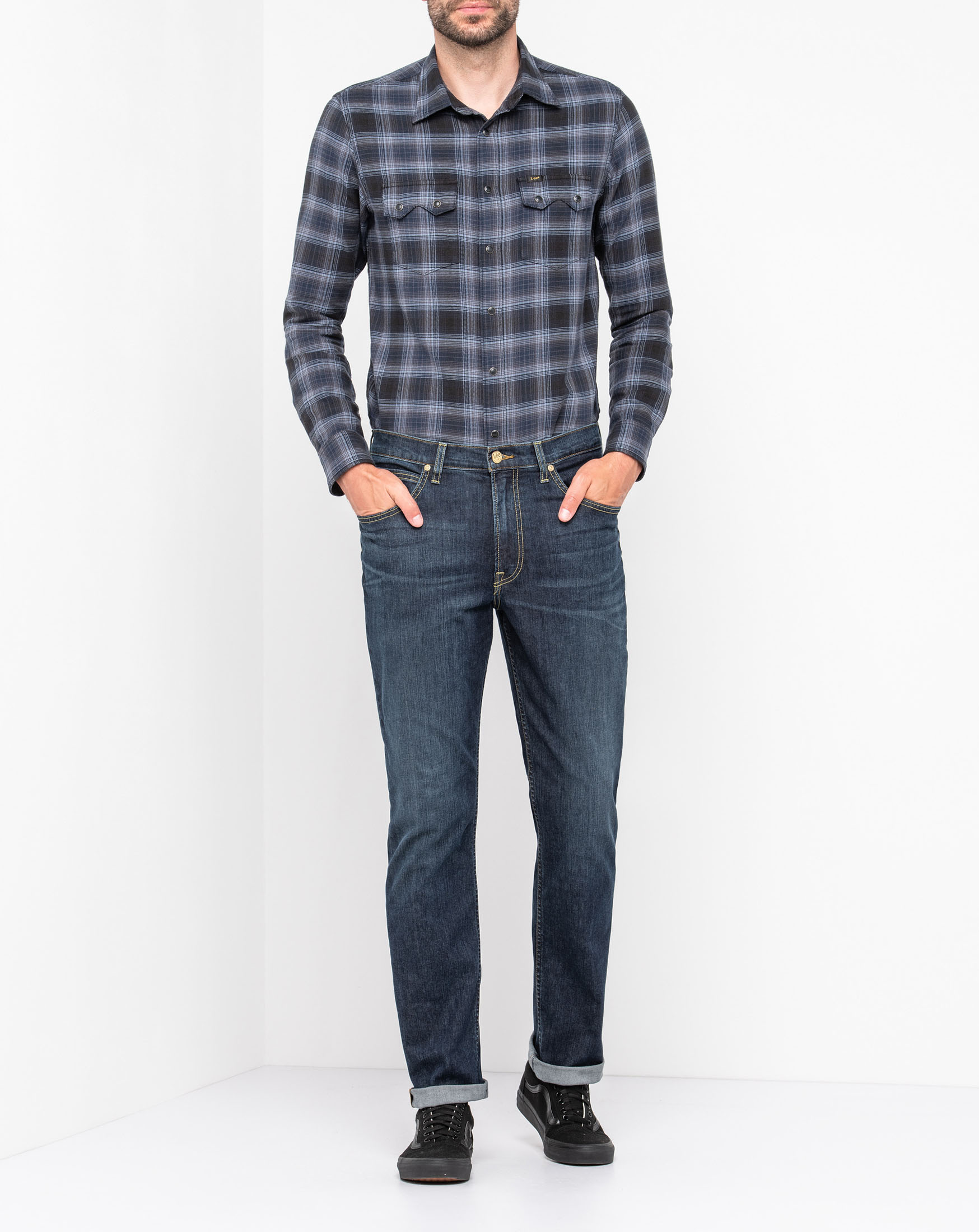 náhled BROOKLYN STRAIGHT DARK WASH