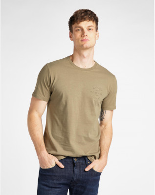 WORKWEAR TEE UTILITY GREEN