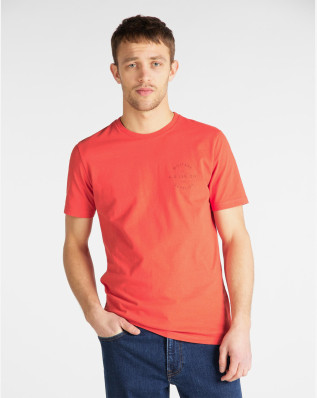 WORKWEAR TEE POPPY RED