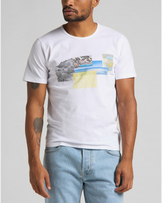 SS PICTURE TEE WHITE