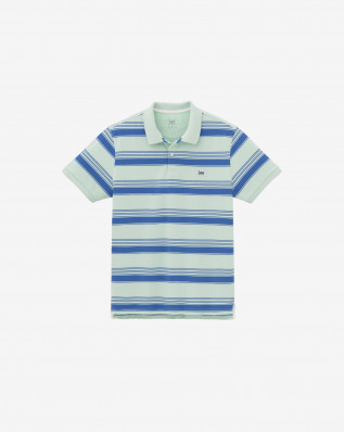 PIQUE POLO SUMMER GREEN