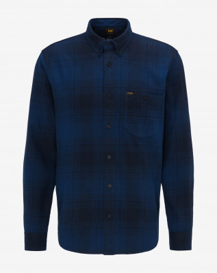 RIVETED SHIRT WASHED BLUE