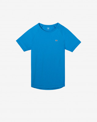 TREND FIT TEE DIPPED BLUE