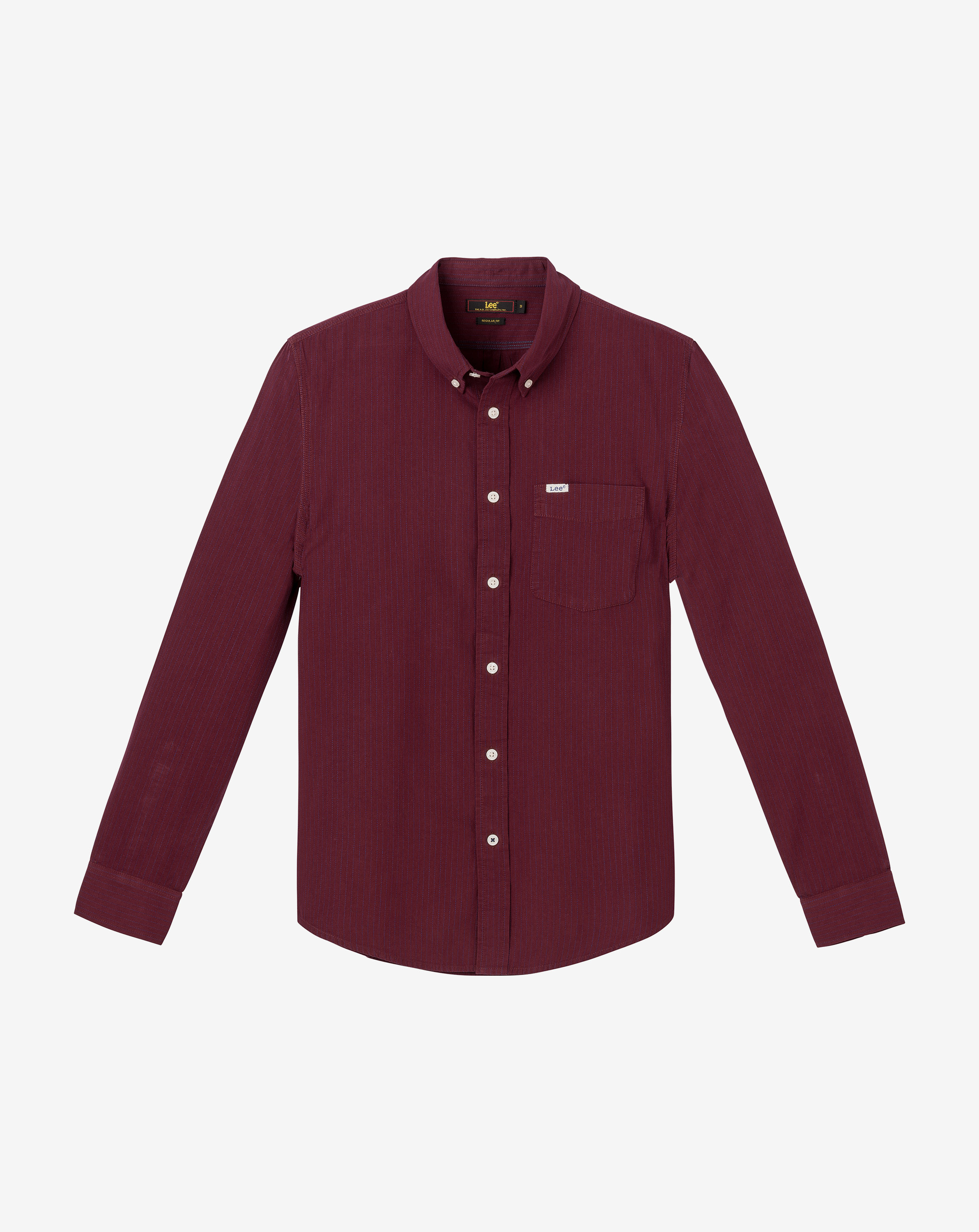 náhled LEE BUTTON DOWN MAROON