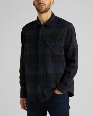 LEE WORKER SHIRT SKY CAPTAIN