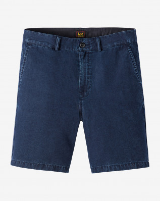 SLIM CHINO SHORT NEW HERRINGBONE