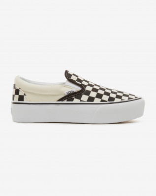 UA Classic Slip-On P Blk&WhtChckerbo