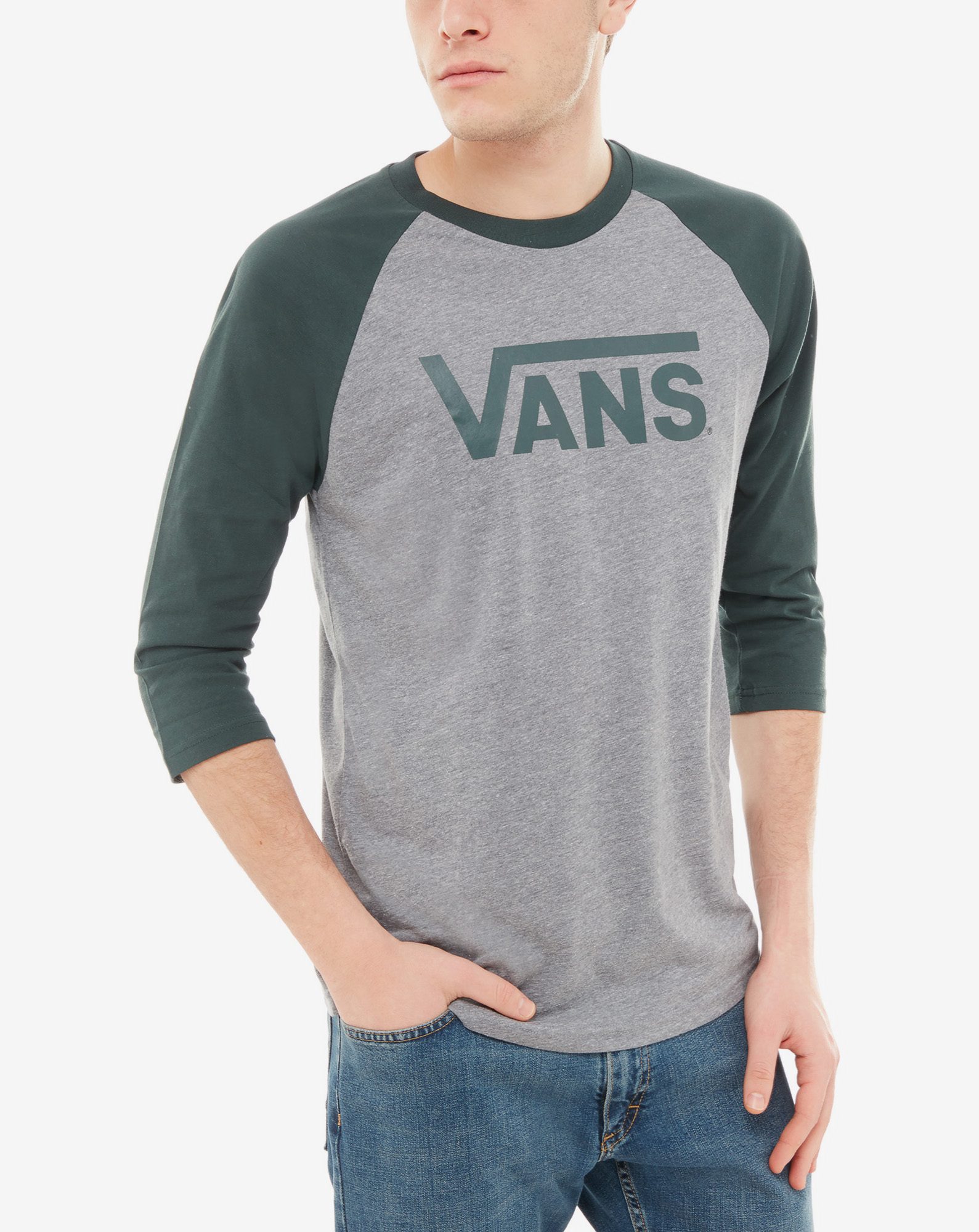 detail MN VANS CLASSIC RAGL HEATHER GREY