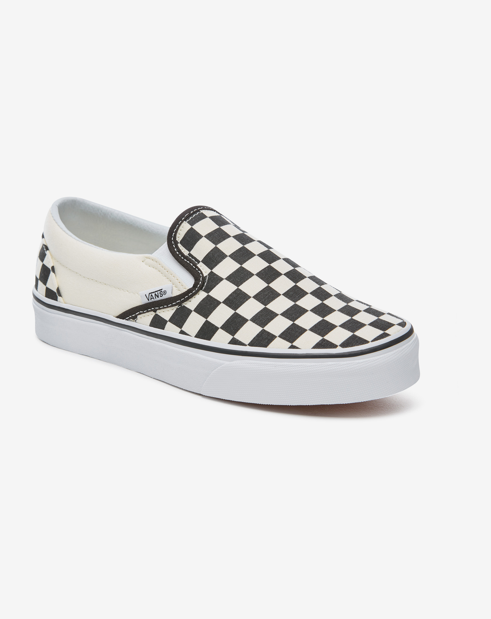 detail UA CLASSIC SLIP-ON Blk WhtChckerbo