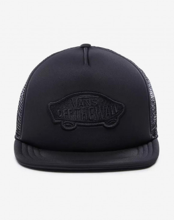 detail CLASSIC PATCH TRUCKER BLACK