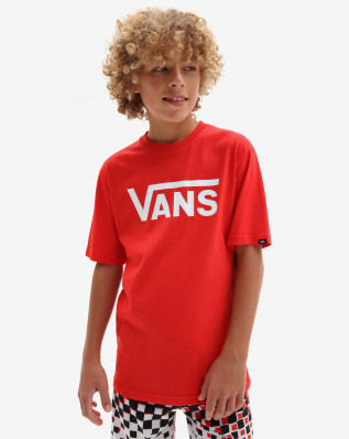 BY VANS CLASSIC BOYS high risk red/w