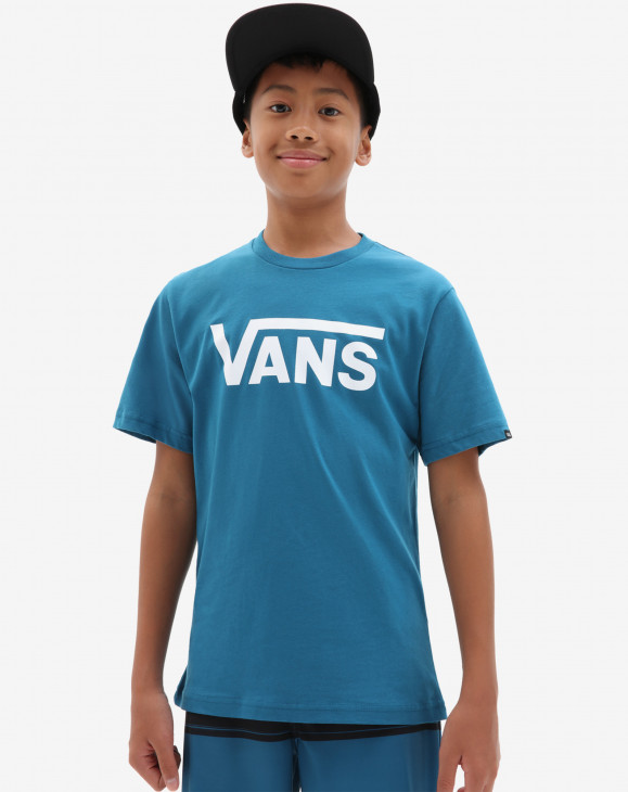 detail BY VANS CLASSIC BOYS MOROCCAN BLUE/W