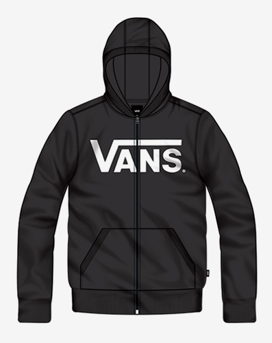 náhled BY VANS CLASSIC ZIP Black/White