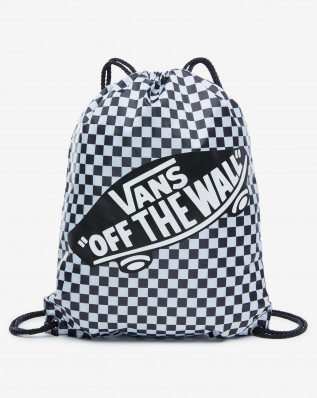 WM BENCHED BAG Black/White Che