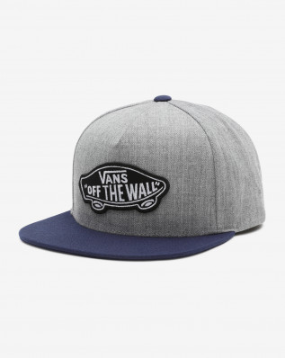 MN CLASSIC PATCH SNA HEATHER GREY/DR