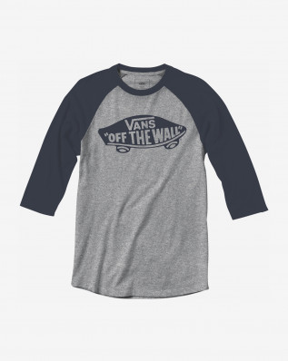 MN OTW RAGLAN ATHLETIC HEATHE